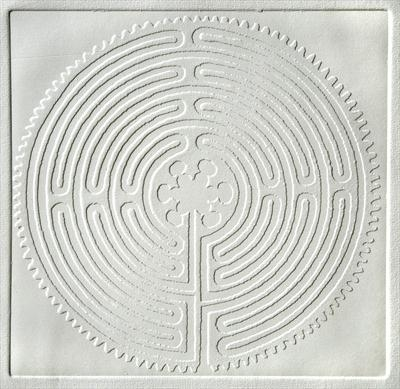 Chartres Labyrinth [White]