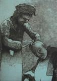 Cappadocian Barber by keith hunter, Artist Print
