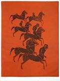 Centaurs by keith hunter, Artist Print
