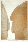 Cycladic Encounter III by keith hunter, Artist Print