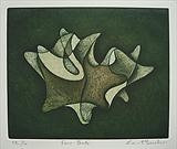 Four Bulls by keith hunter, Artist Print, Two plate etching with aquatint