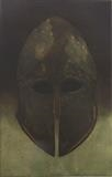 Helmet II by keith hunter, Artist Print