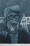 Protester by keith hunter, Artist Print