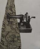 Sewing Macine by keith hunter, Artist Print, 2 plate etching and aquatint