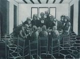 The Last Supper by keith hunter, Artist Print