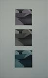 Three Roofs by keith hunter, Artist Print