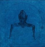 Vitruvian Man revisited - Modesty forbids by keith hunter, Artist Print
